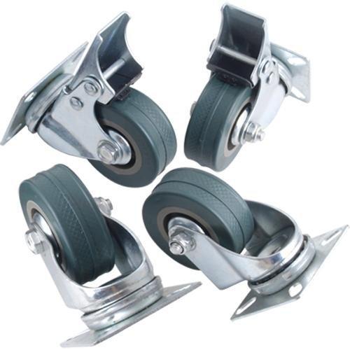 Super Deal Genie-Ruedas giratorias 50mm 4 unidades