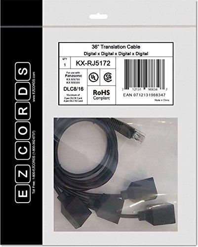 EZCORDS DLC8/16 NS700 Translation Cable Kx Audio