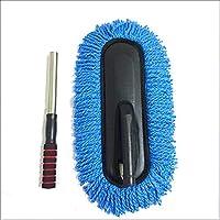 Auto-Waschbürste Staubentfernung Einziehbare Autowäsche MOP Waschwagen Waschmaschine,Blue