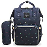 BabyMoon Multifuncton Large Capacity Waterproof Bag with Insulated Pockets (Blue)