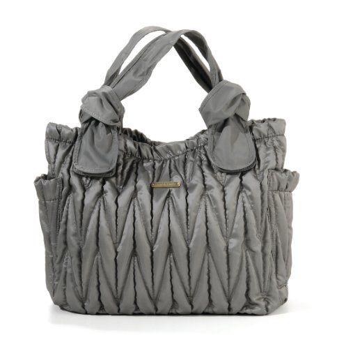Convertible Schulter Tasche (timi & leslie Marie Antoinette II Wickeltasche, Silber)