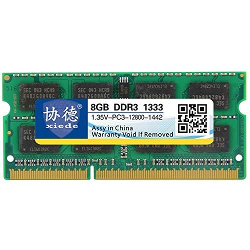 DDR3L 1333MHz 8GB 1.35V Allgemeines Vollkompatibilität Speicher RAM-Modul für Laptop schnell High Quality -
