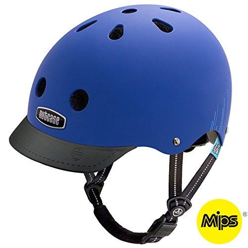 Nutcase Kinder Little Nutty MIPS Helm Blau (Bubbles Matte), 48-52cm