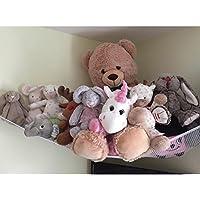 Huijukon Jumbo Toy Hamaca Net organizador de almacenamiento para suave animales de peluche, diseño de ositos (72x 48x 48pulgadas)