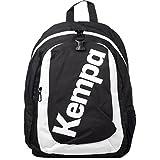 Kempa Rucksack mit Ballnetz schwarz/weiß + Trinkflasche