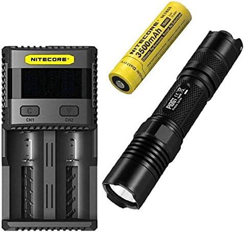 Combo  Nitecore P10GT Flashlight - CREE CREE CREE XP-L HI V3 LED- 900 Lumens w NL1835 3500mAh Battery SC2 Charger B07BLMJ9V1 Parent   Benvenuto    Prezzo Affare    Materiali Selezionati Con Cura  efe662