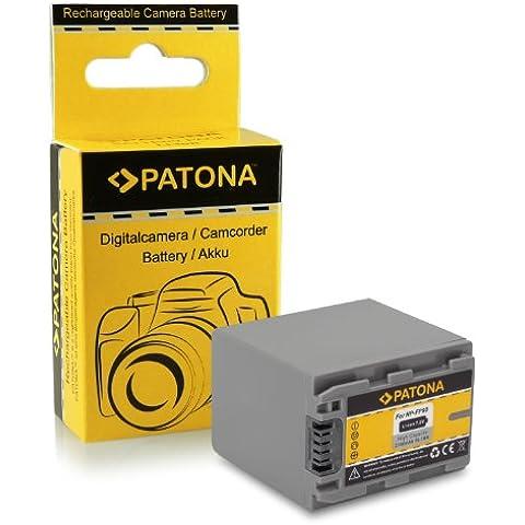 Batería NP-FP90 / NP-FP100 para Sony DCR-DVD92 | DCR-DVD103 | DCR-DVD105 | DCR-DVD202 | DCR-DVD203/ DCR-DVD205 | DCR-DVD304 | DCR-DVD305 | DCR-DVD403 | DCR-DVD404 | DCR-DVD405 | DCR-DVD505 | DCR-DVD602 | DCR-DVD605 | DCR-DVD653 | DCR-DVD653 | DCR-DVD703 | DCR-DVD705 | DCR-DVD755 | DCR-DVD803 y mucho