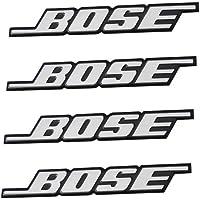 muzzys (Juego de cuatro) Rejilla de altavoz Bose Emblema de la insignia logo adhesivo