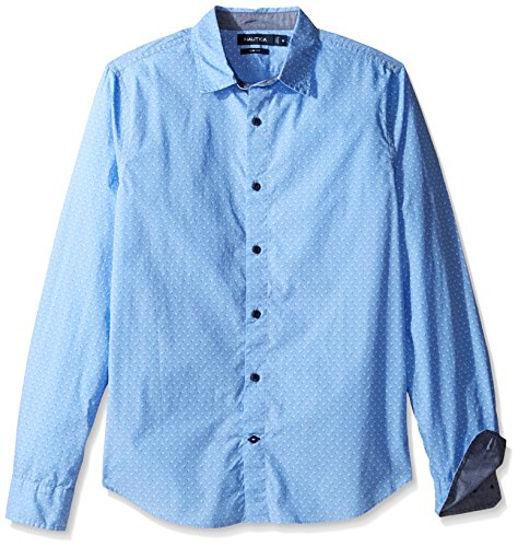 nautica-mens-print-regular-fit-casual-shirt-hydro-blue-xl