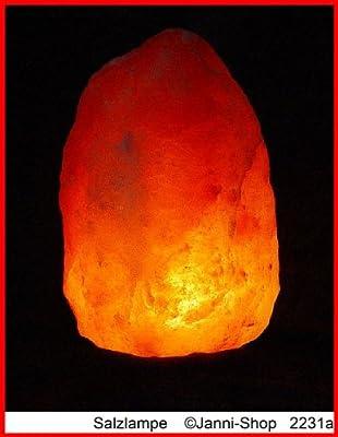 Salz Lampe Salzlampe Kristall Lampe Bosalla 6,5 - 9 kg TOP südl. v. Himalaya Nr.2231 von Bosalla bei Lampenhans.de