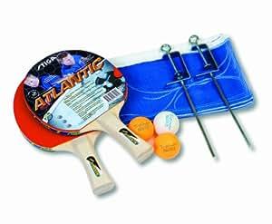 stiga atlantic ensemble pour tennis de table multicolore sports et loisirs. Black Bedroom Furniture Sets. Home Design Ideas