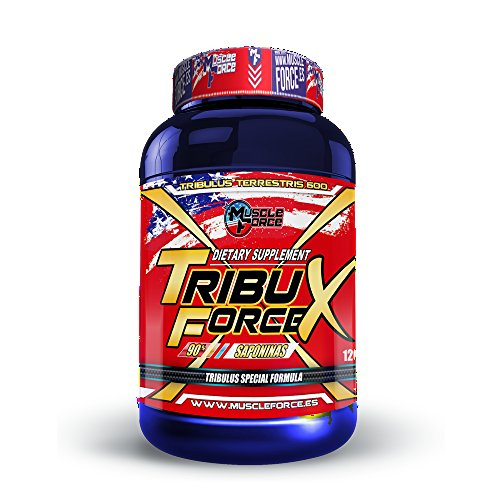 TRIBULUS - FORCE X TRIBULUS TERRESTRIS 120 caps 90% Saponines