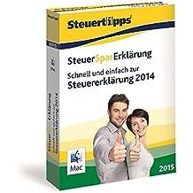 SteuerSparErklärung 2015, Mac-Version (für Steuerjahr 2014)