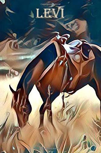 Grazing Wrangler: Levi: Beautiful Horse Journal Notebook -