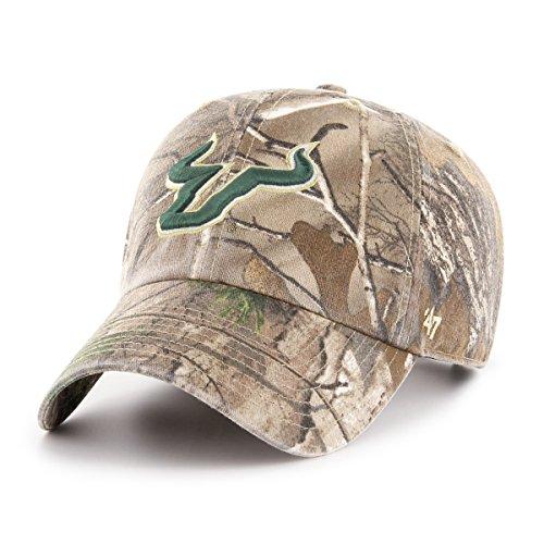 NCAA '47reinigen bis Realtree Verstellbarer Hat, One Size, unisex - erwachsene, NCAA '47 Clean Up Realtree Adjustable Hat, One Size, Realtree Camo, Einheitsgröße (Premium Camo Realtree)
