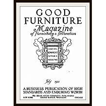 Good Furniture Magazine of Furnishing and Decoration