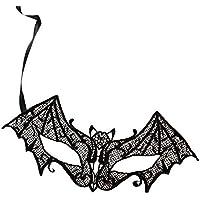 Chytaii Máscara de Encaje para Mujer Máscara de Halloween Máscara Seductora de Encaje para Mascarada Fiesta