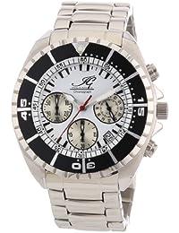 Ingraham Herren-Armbanduhr XL Syracuse Chronograph Quarz Edelstahl IG SYRA.1.611173