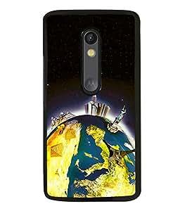 printtech Wonders of World Back Case Cover for Motorola Moto G Turbo Edition