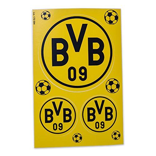 BVB Borussia Dortmund – Gartenzwerg Südtribüne + Aufkleberkarte – Zwerg Garten - 4