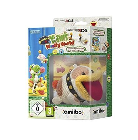 Poochy and Yoshi's Woolly World - Amiibo Bundle (Nintendo 3DS)