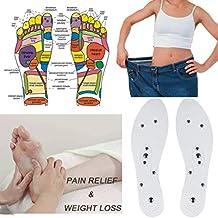 YUYOUG Plantillas de zapatos magnéticas ortopédicas transpirables desodorantes antisudor cómodo masaje zapatos suela ortopédica para hombres y mujeres, ...