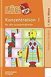 LÜK: Konzentration 1: für alle Grunds...