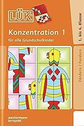 LÜK: Konzentration 1: für alle Grundschulkinder