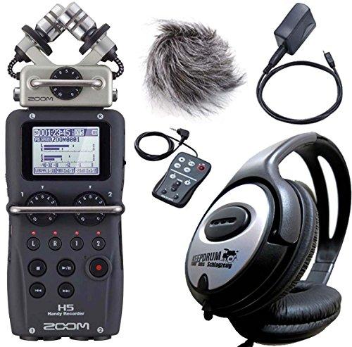Zoom H5Handy Recorder + Set accessori APH-5+ Cuffie KEEPDRUM gratis.