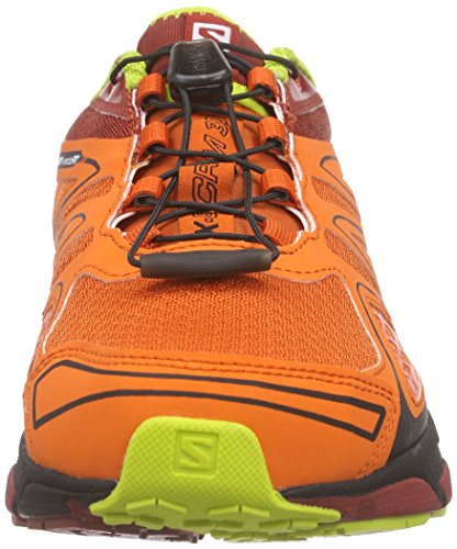 SalomonX-Scream 3D - Scarpe Running uomo Rosso (Red (Tomato RED/Flea/gecko Green))