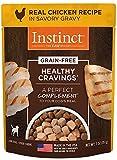 Nature's variété Instinct Substitut de Repas Cravings Exemptes Décoration pour Chiens, 85Gram Pouch