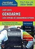 Concours Gendarme sous-officier de gendarmerie externe - Tout-en-un - 2019/2020