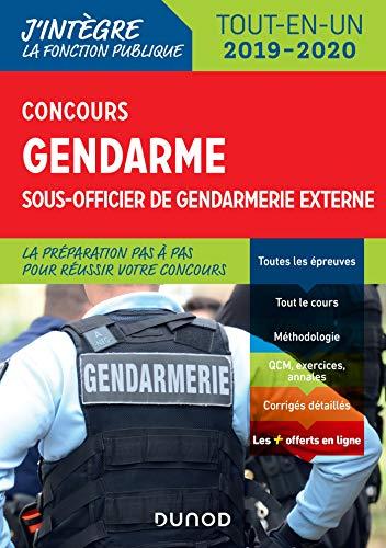 Concours Gendarme sous-officier de gendarmerie externe - Tout-en-un: Tout-en-un - 2019/2020 par  Benoît Priet, Corinne Pelletier, Rénald Boismoreau, Thibault Couarc'h