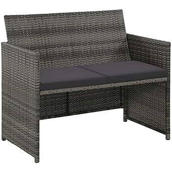 Garten Vidaxl Gartenmobel 3 Sitzer Poly Rattan Sofa Lounge