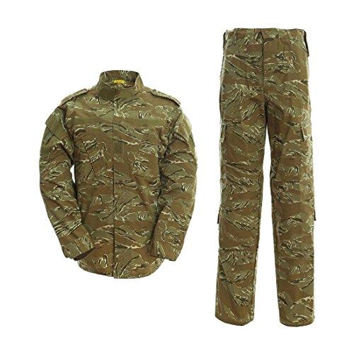 DRAGONPRO AU001 ACU Uniform Set Desert Tiger Stripe XS -