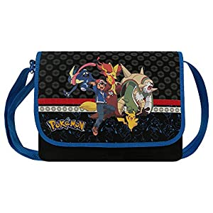 Pikachu 160–6543 Pokemon Evolution Messenger, Rucksack (33 cm)