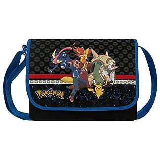 5147tQK8ZvL. SS324  - pikachu 160-6543 Pokemon Evolution - Mochila Bandolera (33 cm)