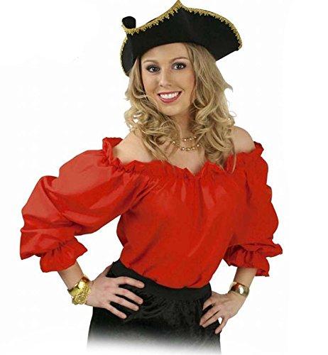 Gurimo-Tex 114886 - Bluse Ronja Kostüm, 46 (Der Pirat Und Die Dirne)