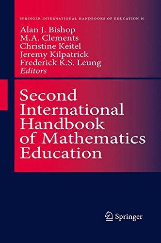 Second International Handbook of Mathematics Education (Springer International Handbooks of Education)