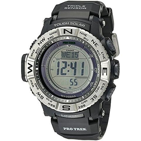 Casio Hombre PRW-3500–1CR Atomic resina Digital reloj