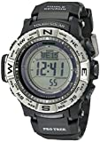 Casio Men's Pro Trek PRW-3500-1CR Solar Powered Atomic Resin Digital Watch