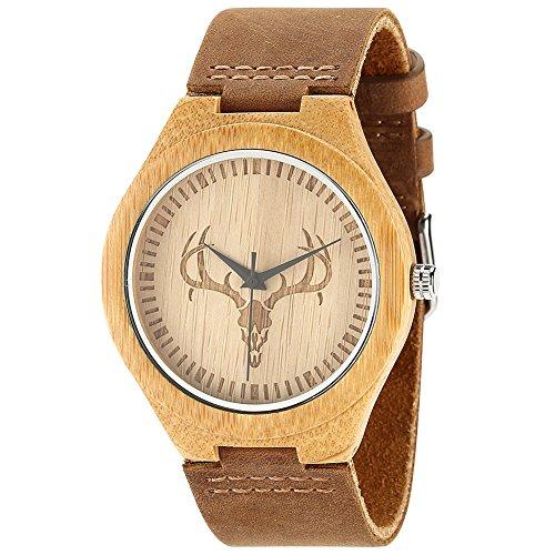 wonbee-montre-pour-homme-en-bois-de-bambou-avec-bracelet-en-cuir-de-vachette-naturel-et-motif-tete-d