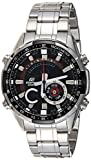 Casio Edifice ERA-600D-1AVUDF (EX354) Analog-Digital Black Dial Men's Watch