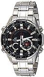 Casio Edifice Analog-Digital Black Dial Men's Watch, ERA-600D-1AVUDF (EX354)