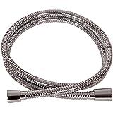 VARIOSAN Flexible de douche Premium 10094, 1,50 m, acier inoxydable, Chromé, DN15