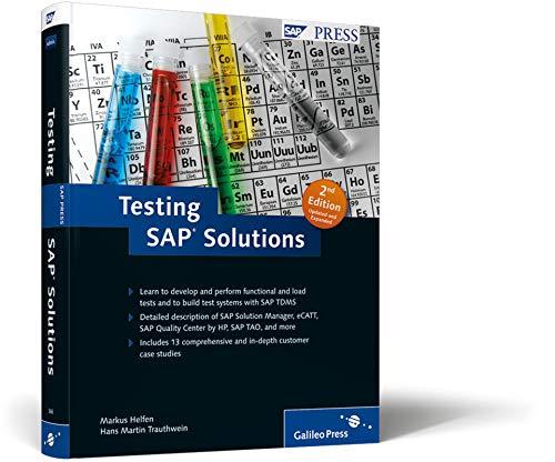 Testing SAP Solutions (SAP PRESS: englisch) - 1 Hp Center