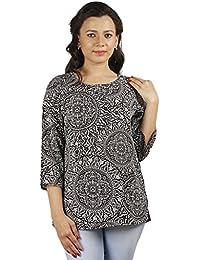 Gugg Women's Self Design TOP [GS16A22_BLACK]