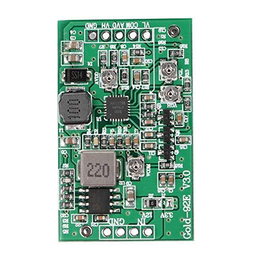 Bewinner Boost-Board-Modul, LCD-TCON-Board, 4-Kanal-Modul mit Einstellbarer Spannung, VCOM, AVDD, VGH, VGL 4 Kanäle, Eingangsspannung 12V -