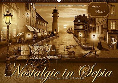 Preisvergleich Produktbild Nostalgie in Sepia (Wandkalender 2018 DIN A2 quer): Nostalgie und Kult aus den 50er, 60er und 70er Jahren in sanften Sepiabraun (Monatskalender, 14 Seiten ) (CALVENDO Kunst)