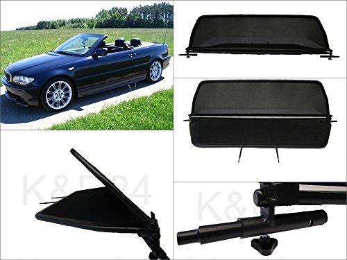 Filet Anti-Remous Coupe de vent BMW E46 cabriolet produit haut de gamme